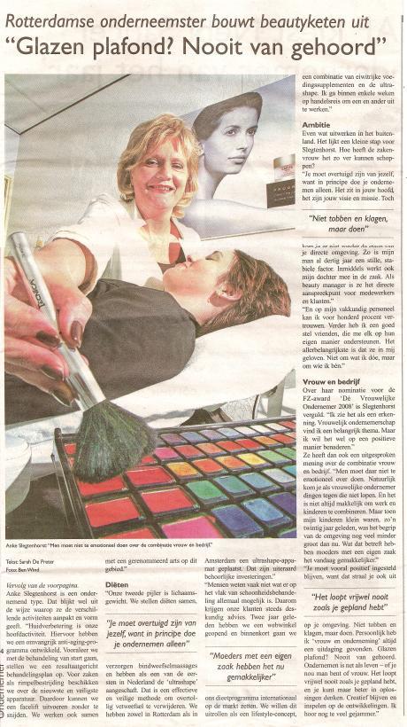 Anke Beauty Centre bouw beautyketen uit